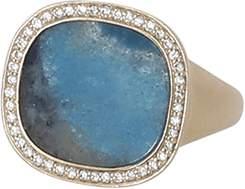Monique Péan Gilalite And White Diamond Ring