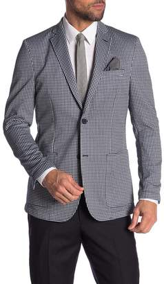 Vince Camuto Slim Fit Stretch Houndstooth Sport Coat