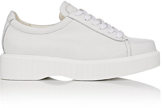 Robert Clergerie Women's Pasket Leather Sneakers $495 thestylecure.com