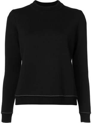 Vera Wang バックスリットセーター
