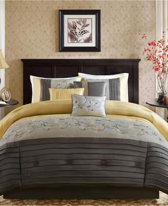 Madison Park Serene 7-Pc. California King Comforter Set Bedding