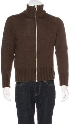 Dolce & Gabbana Wool Zip Sweater