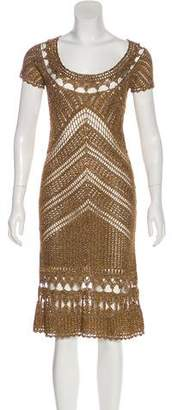 Diane von Furstenberg Kalakaua Macramé Dress