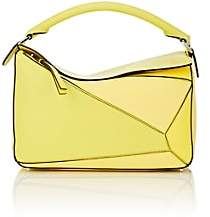 Loewe Women's Puzzle Leather Shoulder Bag - Yellow Multi