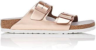 Birkenstock Women's Arizona Leather Double-Buckle Sandals $200 thestylecure.com