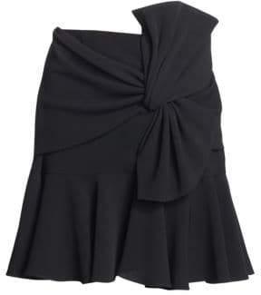 Cinq à Sept Mara Ruffle Knot Skirt