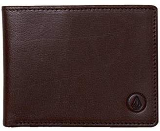 Volcom Men's Leather Wallet Accessory