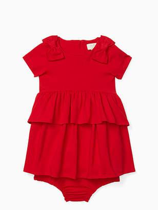 Kate Spade Infant peplum waist dress