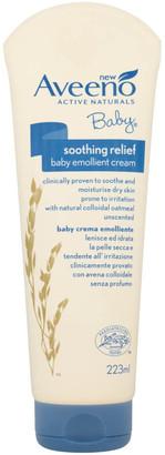 Aveeno Baby Soothing Relief Emollient Cream 223ml