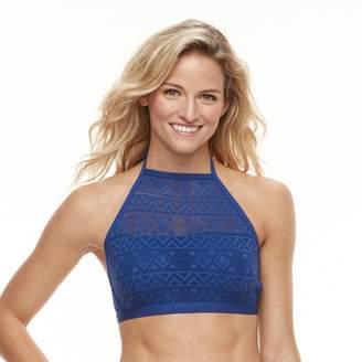 Apt. 9 Women's Crochet High-Neck Bikini Top