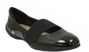 ELLEN TRACY Aperture Leather Cap Toe Flats 2