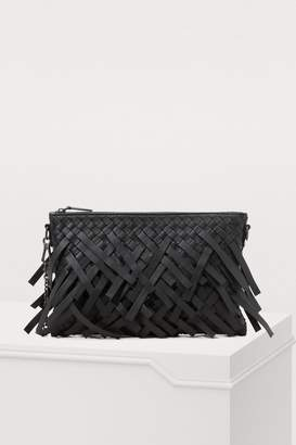Bottega Veneta Fringed clutch