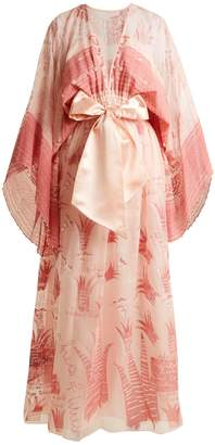 Zandra Rhodes Summer Collection The 1973 Field of Lilies gown