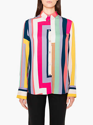 Paul Smith Zig Zag Stripe Shirt, Multi