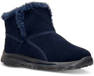 Skechers Women's On The Go Chugga Comfort Boots from Finish Line $64.99 thestylecure.com