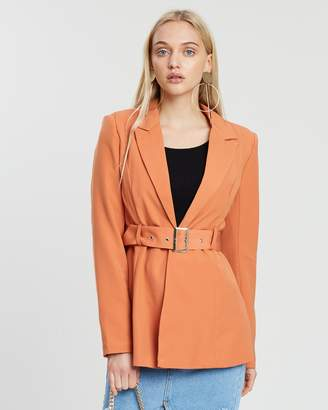 Missguided Belted Co-Ord Jacket