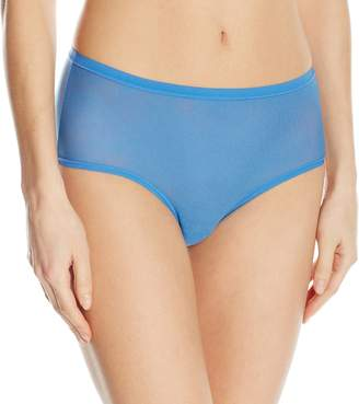OnGossamer Women's Modern Mesh Brief Panty