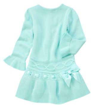 Crazy 8 Sparkle Interlaced Sweater Dress