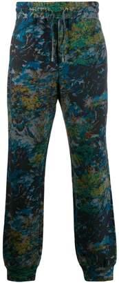 floral-print sweatpants
