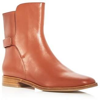 Via Spiga Women's Vaughan Leather Booties