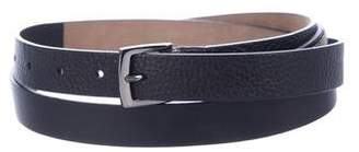 Brunello Cucinelli Monili-Embellished Leather Belt