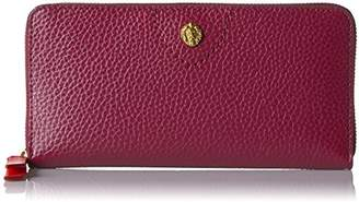 Anne Klein V Stitch Slim Zip Around Wallet Wallet