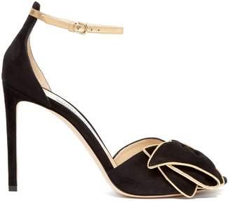 Jimmy Choo Karlotta 100 suede sandals