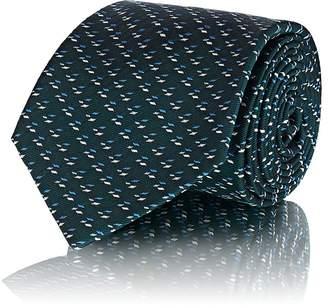 Fairfax Men's Abstract-Pattern Silk Twill Necktie
