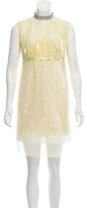 Marc Jacobs Beaded Mini Dress w/ Tags