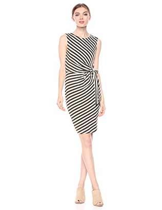 Bailey 44 Women's Mandrill Stripe Waist Tie Detail Dress