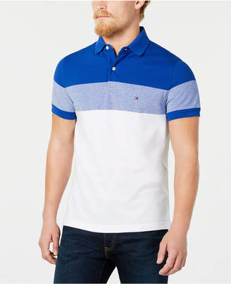 Tommy Hilfiger Dylan Men Custom Fit Striped Polo