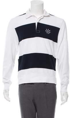 Rag & Bone Striped Polo Shirt