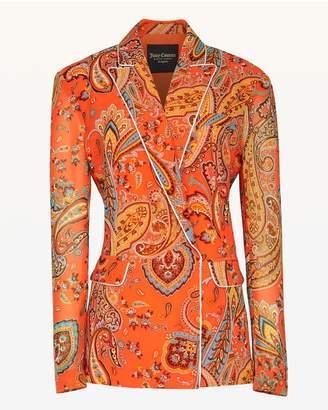 Juicy Couture Rustic Paisley Blazer