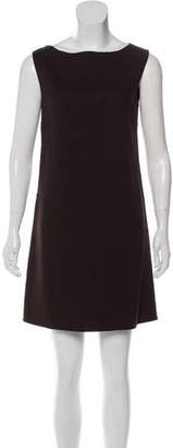 Burberry Sleeveless Wool Dress