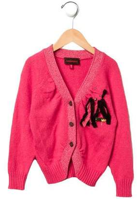 Catimini Girls' Embellished Cardigan