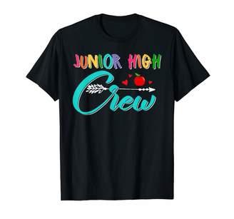 Junior High School Gifts Junior High Crew Teacher Student Back To School T-Shirt