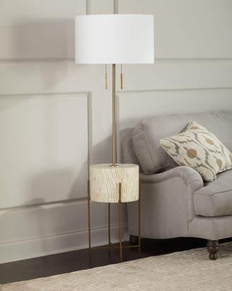 Regina-Andrew Design Regina Andrew Design Resse Natural Brass Floor Lamp
