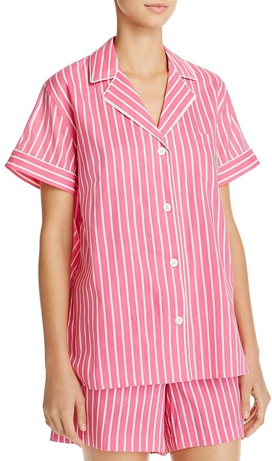 Lauren Ralph LaurenLauren Ralph Lauren Stripe Lawn Short Pajama Set