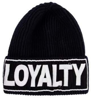 Versace Loyalty Wool Beanie