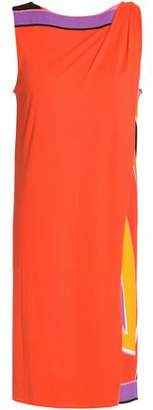 Emilio Pucci Color-Block Jersey Dress