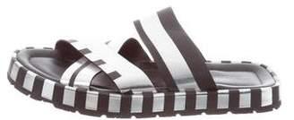 Acne Studios Leather Slide Sandals