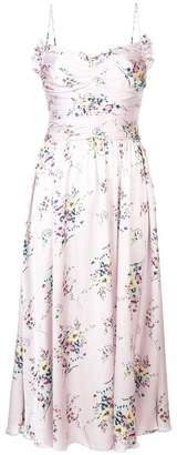 Jill Stuart Maia ruched midi dress