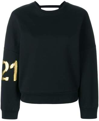 No.21 branded sweatshirt