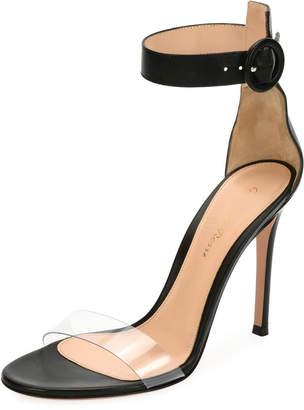 036afee10c8403 Gianvito Rossi Portofino Illusion d Orsay Sandals