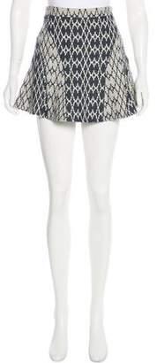 Derek Lam Textured Mini Skirt