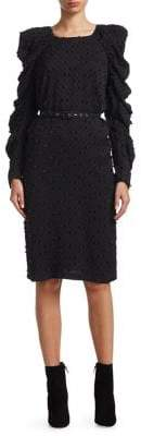 Rachel Comey Whiff Belted Sheath Dress