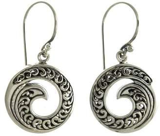 Oceania Maui Ornate Wave Earrings
