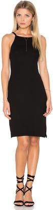 Michael Stars 2x1 Rib Cami Tank Dress $78 thestylecure.com