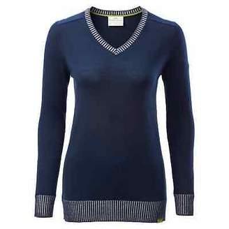 Kathmandu KMDMerino Soft Lightweight Warm Breathable V-neck Women Knit top