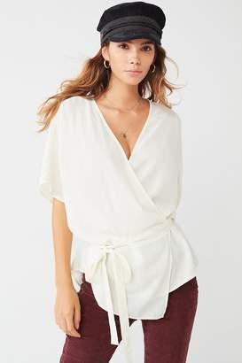 Urban Outfitters Kimono Wrap Tunic Top
